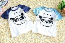 2012 high quality custom printing design summer fashion style cotton kids clothing t-shirt