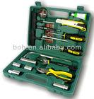19pcs car tool kit car repair kit