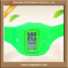2012 Fashion Plastic Digital Watch for Boys and Girls