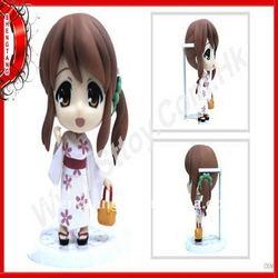 Plastic Japanese beautiful girl toy