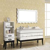 White Royal Antique Soild Wood Vanity Bathroom