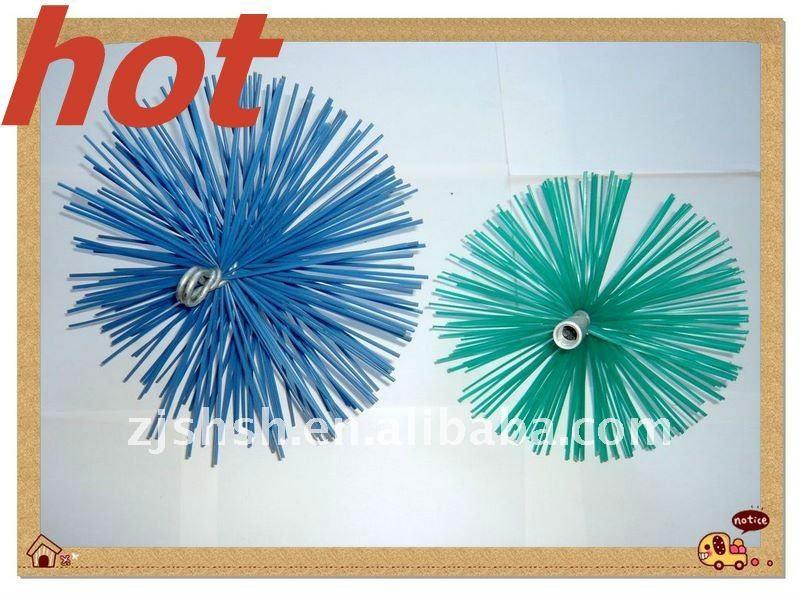 Spazzacamino spazzole spazzola di pulizia