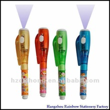 Lovely popular mini UV light pen&Mini invisible marker pen for kids and pass SGS CH-mini0816
