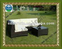 2012 PE Rattan Garden Fabric Sofa SV-5S19