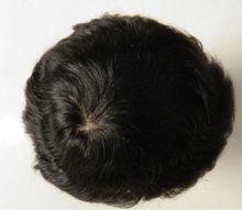 silk base hidden Konts top hair piece
