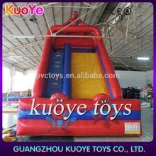 spider man inflatable slide