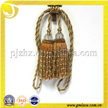 beaded double hanging ball for curtain decorative