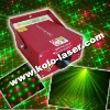 150mW Red and Green Firefly Moving Star DPSS Laser