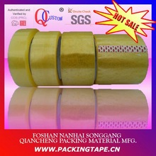 BOPP adhesive packing tape cutted rolls for carton sealing and aluminum bound PT-50