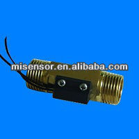 brass material water pump flow switch sensor