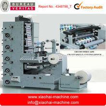 sticker label printing machine with die cutting