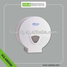Plastic waterproof toilet tissue holder/PS paper dispenser