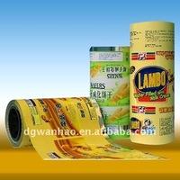 customized aluminum foil laminated roll film