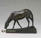 Beautiful Cast Brass Animal Sculptures Bronze Horse