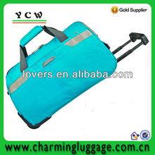 sky travel luggage bag on wheels