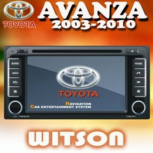WITSON Car DVD Player With GPS for Toyota AVANZA