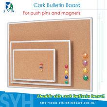 Magnetic cork Bulletin Board
