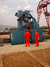 Roller type Shot Blasting Machines cleaning for steel profiles