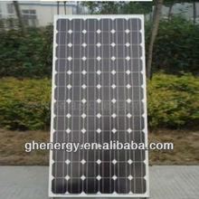 Zhejiang 190W Monocrystalline China Solar Panels Cost