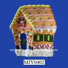 Christmas candy house gingerbread for Christmas decor