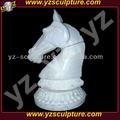 Stein pferd büste skulptur ams-b035