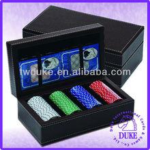 100pcs Poker Chip Set