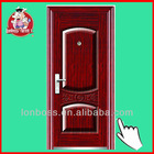 Metal shed security gate doors