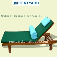 2012 excellent workmanship outdoor cushion for chaise
