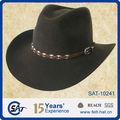 Ocidental bem aparência feltro de lã Stetson chapéu de vaqueiro, 100 de feltro de lã