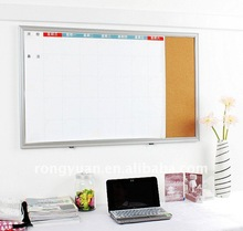 Promational magnetic cork and white calendar board