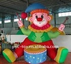 cute design giant inflatable cartoon characters