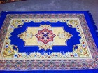 2014 New Design 100% Polyester Top Quality Muslim Use mosque Prayer Carpet