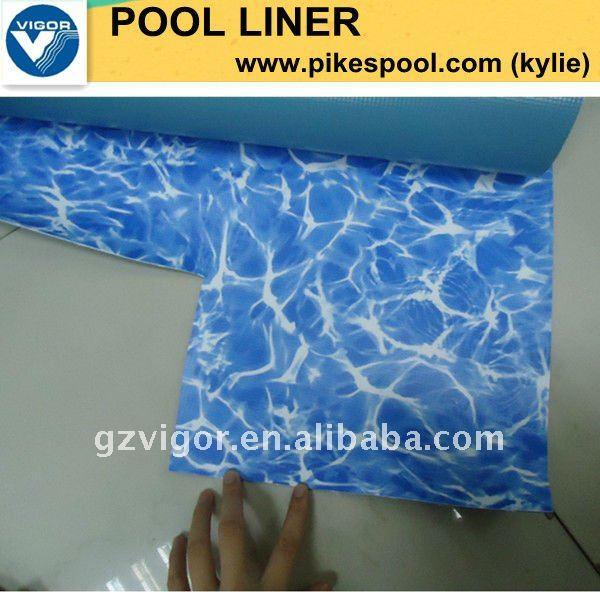 revestimiento de vinilo para la piscina de natación