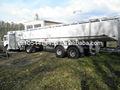 Aviação caminhão tanque de homem recuperado