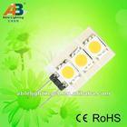 3smd Side pin or Rear pin 12v G4 led lamp bulb