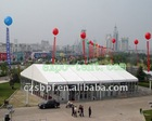 Sun Shelter Exhibition tent with glasswalls (21x30m)