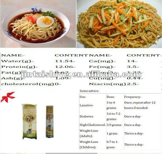 noodle union senza collaterali tagliatelle secco konjak effetti