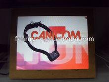 """15"""" LCD digital photo frame, digital picture frame, digital video frame"""