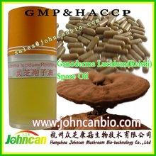 Reishi spore oil, triterpene >20%, reishi spore oil softgels