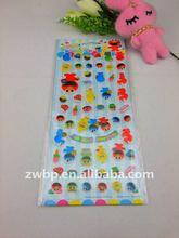 Jelly sponge pvc cartoon stickers