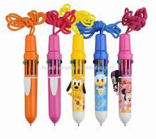blister packed 10 colour pen