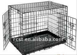 2 access doors dog crate