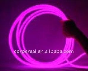 flexible plastic Side glow fiber optic light