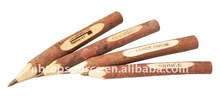 Eco-friendly Natural Wood Recycled Pen with logo