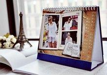 The latest model 2014 calendar printing