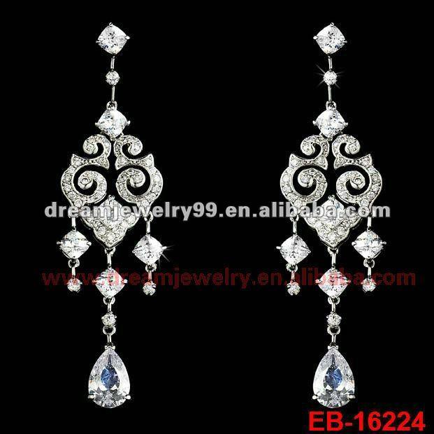 charm crystal dangler earring