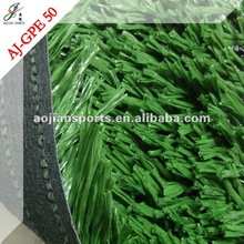 Plastic lawn for soccer pitch