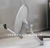 a parabólica antena de prato satélite