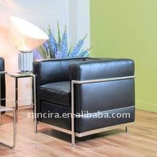 leather sofa enclosing frame sofa SY-105-1
