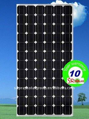 160w mono solar panel